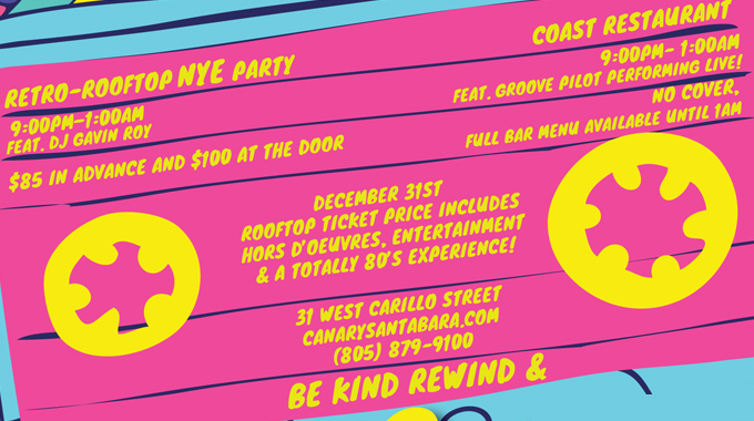 Retro-Rooftop NYE Party