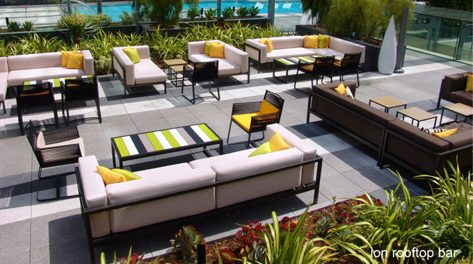 Rooftop Pool Bar : ION Rooftop Pool Bar, 900 W Olympic Blvd, 4th Fl Rooftop Bar, Los ...