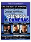 Southwest Elementary School's Comics for Cameras Comedy Benefit