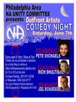 Philly Area NA Unity Committee Presents Comedy Night